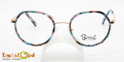 Binocle Eyewear - Beraka couleurs 3 & 4 - Le modèle combiné métal/acétate pour femme