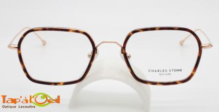 Charles Stone NY3005 C - Modèle combiné, branches métalliques fines