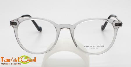 Charles Stone NY30058 C1 - Modèle acétate, branches métalliques mixte