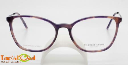 Charles Stone NY30072 C3 - Modèle en acétate fine pour femme