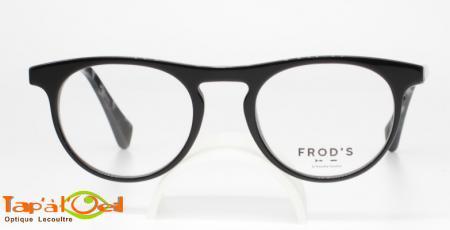 Frod's lunetterie FR0617 coloris 010 - Monture acétate de fabrication française