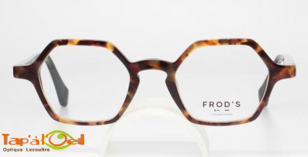 Frod's lunetterie Frénétique coloris 021 - Monture acétate fabriquée en France