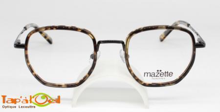 Mazette lunettes, modèle Alumette coloris C1 et C4 - Monture combinée acétate et métal