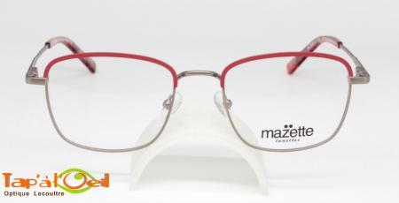 Mazette lunettes, modèle Pompette colori C3 - Monture métal