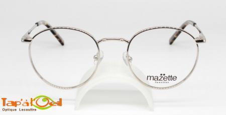 Mazette lunettes, modèle rondelette colori C3 - Monture métal