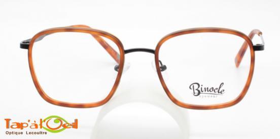 Binocle Eyewear - Izar couleur #2 - Le modèle combiné métal/acétate pour homme