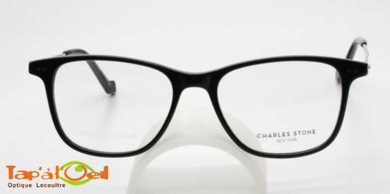 Charles Stone NY30057 C1 - Modèle acétate, branches métalliques mixte