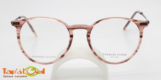 Charles Stone NY30071 C1 et C2 - Modèle acétate, branches métalliques fines