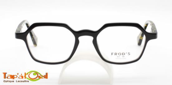 Frod's lunetterie Fronton coloris 341 - Monture acétate fabriquée en France