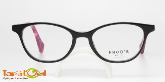 Frod's lunetterie FR0312 coloris 332 - Monture acétate de fabrication française