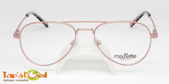 Mazette lunettes, modèle Corvette colori C4 - Monture métal